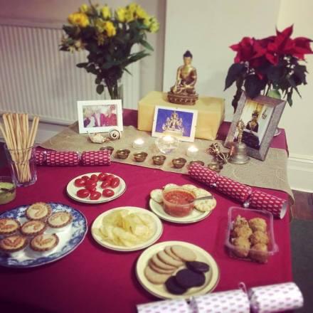 Tibetan Buddhist Christmas Feast